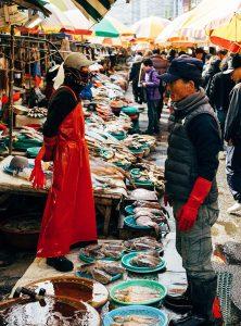 Der Markt in Wuhan © Pexels Markus Winkler